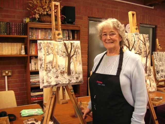 learn to paint in shropshire